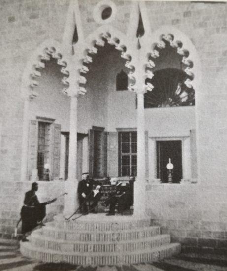 Bentivoglio sur le perron du consulat », Louis de Vignes – 1860