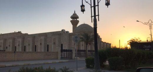 L'une des mosquées du centre-ville de Tikrit, novembre 2019, crédits Alulim.