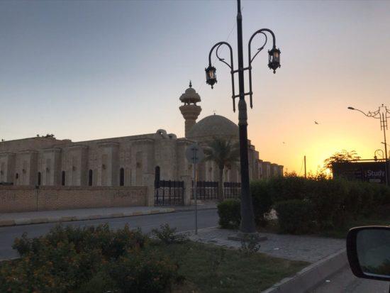 L'une des mosquées du centre-ville de Tikrit, novembre 2019, crédits A. A.