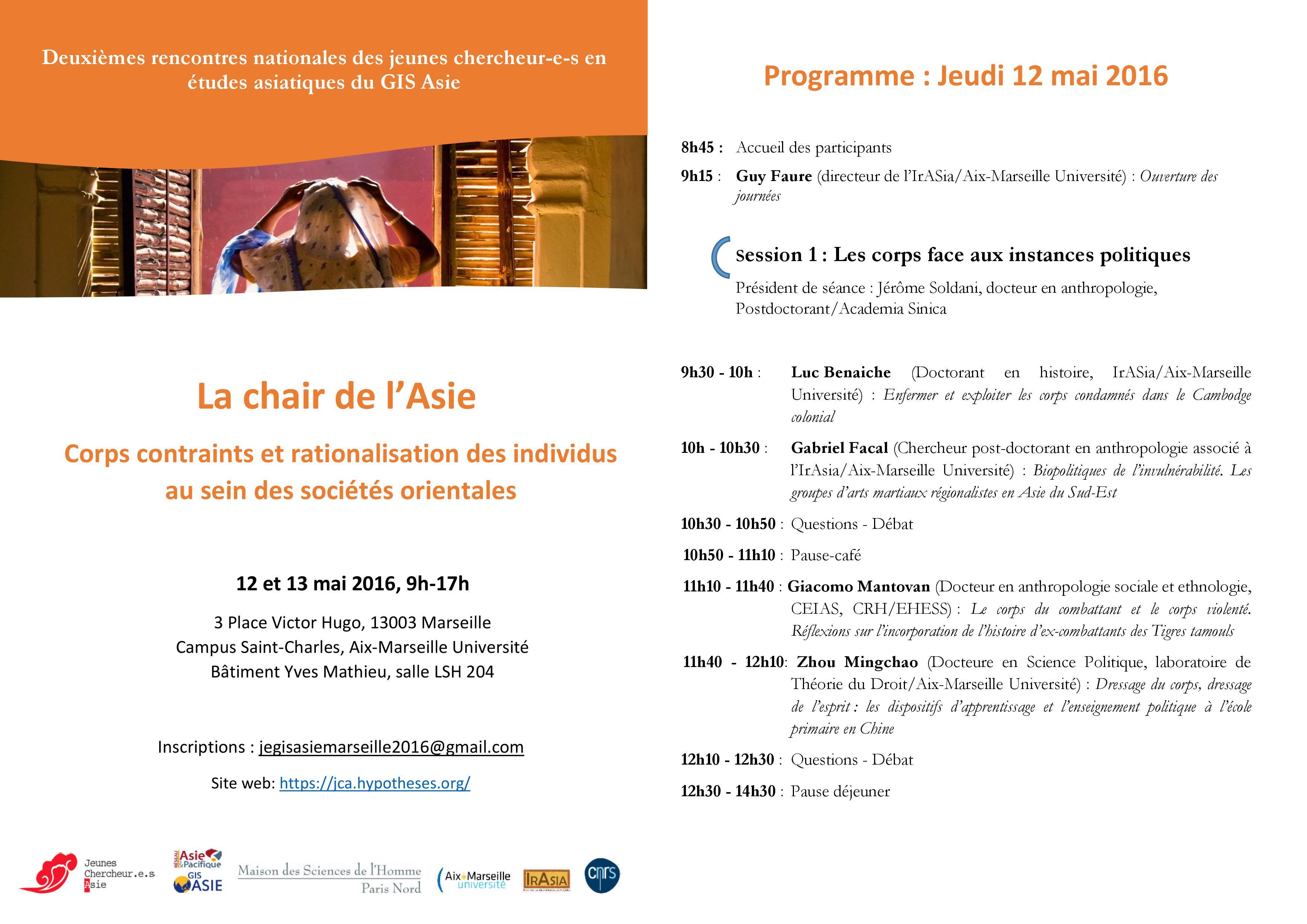 Programme Marseille 1 (2)