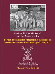 Revista Hist Social y Mentalidades 2015