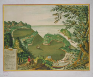 Adrian Boot, Puerto de Acapulco en el Reino de la Nueva España en el Mar del Sur, 1628