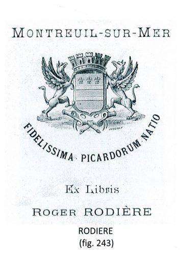 écusson Rodière