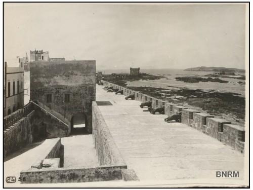 Photographie de la Scala de Mogador (ville d'Essaouira, Maroc)
