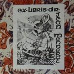 Ex-libris de Jean Mennerat