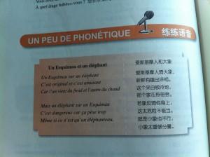 Xiaohong MA, Le Français (Tome I, édition relue et augmentée), Pékin, Édition de l'enseignement et la recherche des langues étrangères, 2007, p.284.