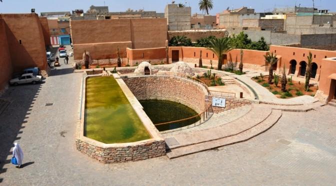 Réhabilitation de la source historique Aïn Zerka