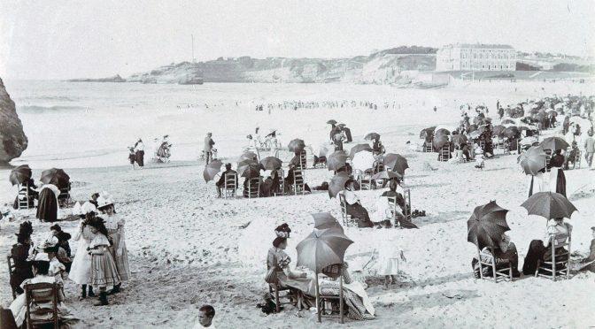 Drei Herren am Strand