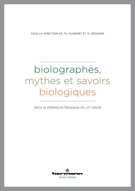 Citation   Formats   Les sciences du vivant  Imaginaire et
