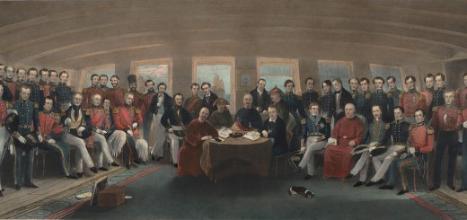 John Burnet (after John Platt), Signing of the Treaty of Nanjing, 1846