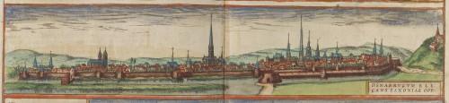 Georg Braun & Frans Hogenberg, View of Osnabrück, 1572