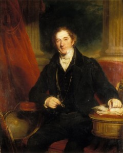 Martin Archer Shee, Portrait of Sir George Staunton, 2nd Baronet, c. 1820.