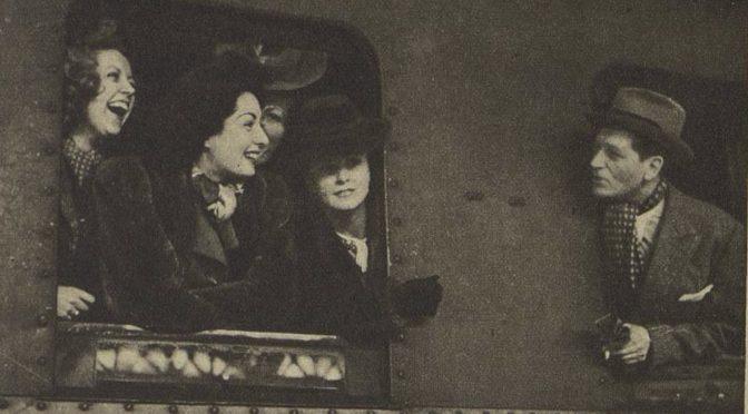 """""""Rendez-vous d'étoiles à Berlin"""" dans les actualités filmées, mars 1942"""