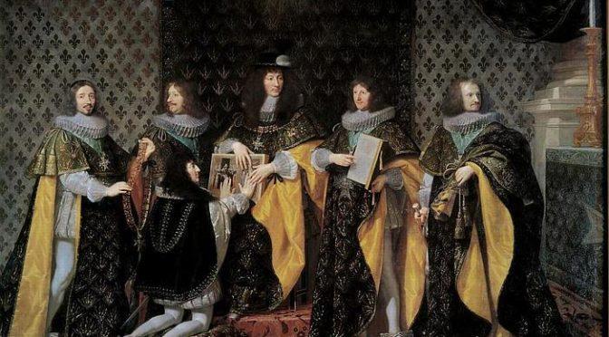 L'Ordre du Saint-Esprit sous Louis XIV : un instrument au service du pouvoir (1643-1715), par Lenaïg Roumegou