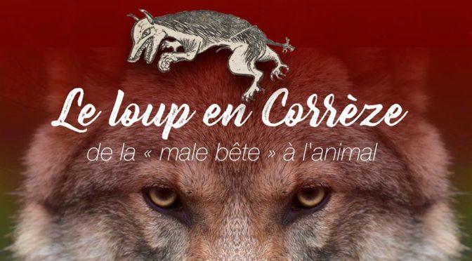 Le loup en Corrèze : de la «male bête» à l'animal. Une exposition aux archives départementales de la Corrèze