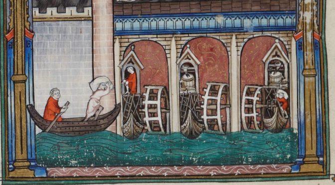 La force du moulin : étude sur l'énergie dans le Paris médiéval