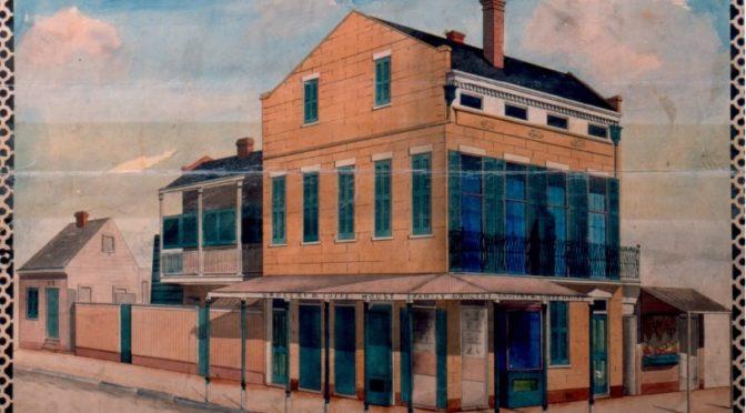 Les archives notariales de La Nouvelle-Orléans