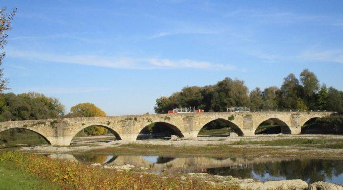 Leonardo e Ponte Buriano : Un chantier de restauration avec la Joconde pour toile de fond