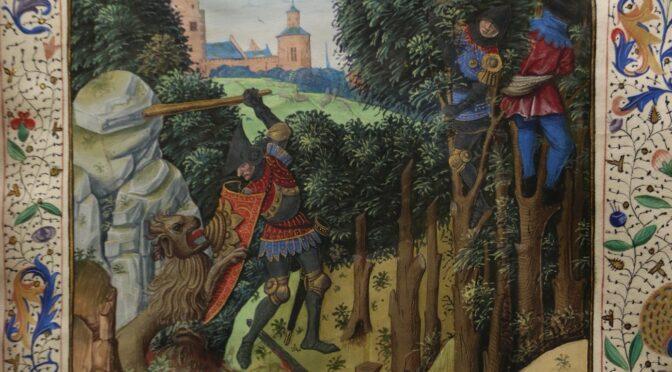 Hercule à la cour des ducs de Bourgogne : fortune et représentations du chevalier à la massue