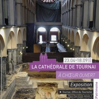 1 Affiche Lacahedraledetournaiachoeurouvert-Expo_affiche_print_hd