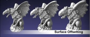 Surface offsetting
