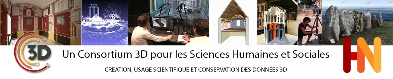 Un Consortium 3D pour les Sciences Humaines et Sociales