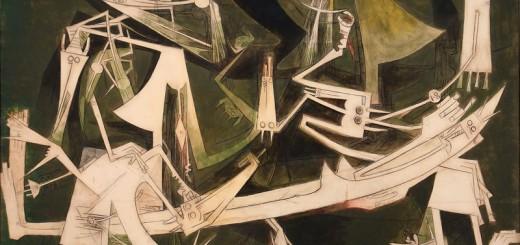 The Third World (1965),  Wifredo Lam, oil on canvas, Museo Nacional de Bellas Artes de La Habana