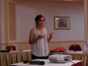 Laura Galian on Ethics and Risks (Photo: Anne-Linda Amira Augustin)
