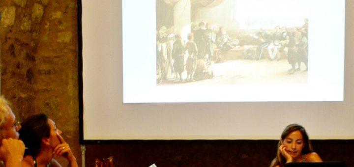 Elisabetta Benigni presenting her project
