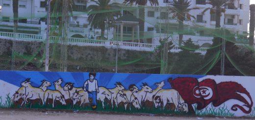 La Marsa Graffiti (Photo: Anne-Linda Amira Augustin)