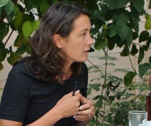 Leyla Dakhli at the Summer Academy in Rethymno 2016