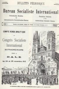 Bulletin périodique du BSI, sur le congrès de Bâle de 1912