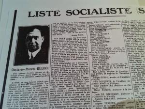 Un drôle de socialiste ? Marcel Ruedel, directeur des Annales coloniales