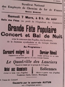 Extrait du Finistère syndicaliste, mars 1914