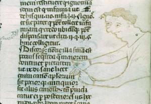 Gratien, Décret 3e quart du XIIIe s. Autun, BM, ms. 80, f. 38