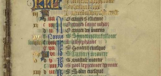 Bibliothèque nationale de France, Département des manuscrits, NAL 3194, f. 1r.