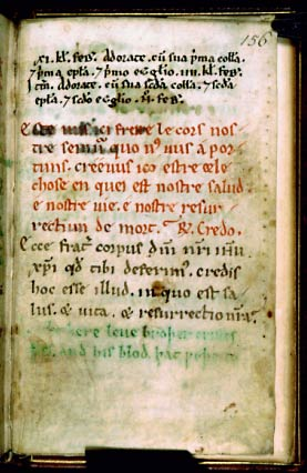 London, British Library, Cotton Titus D XXIV, f. 156r