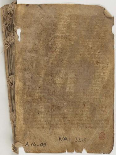 Recueil franciscain (1235-1260 ). BnF, Départ. des Mss, NAL 3245.