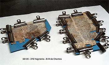 Image 6 : Fragments plissés.