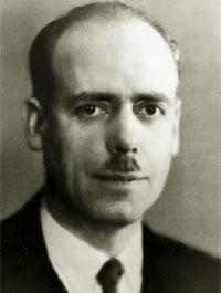 Photo 1 : Félix Grat, premier directeur de l'IRHT (1937-1940).