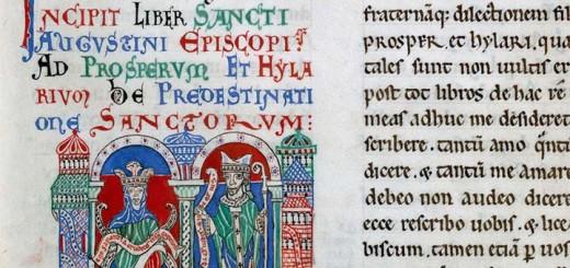 Saint Augustin et Sagesse, Valenciennes, BM, ms. 164, f. 52