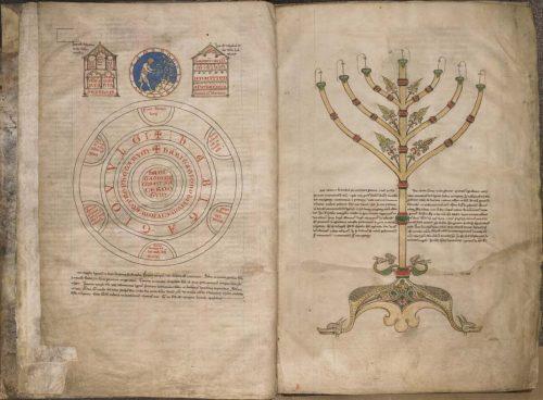 Tournai, Bibliothèque du Séminaire, ms. 4, f. 2v-3.