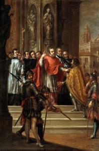 Juan de Valdès Leal, rejet de Théodose