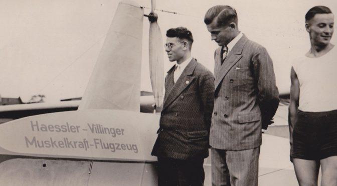 Neuerwerbung im Archiv des Deutschen Museums: Helmut Haeßler – Pionier des Muskelkraftflugs