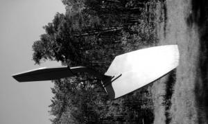 Claes Oldenberg, 1971, Trowel. (modifié d'après photo par Lydia Regalado)