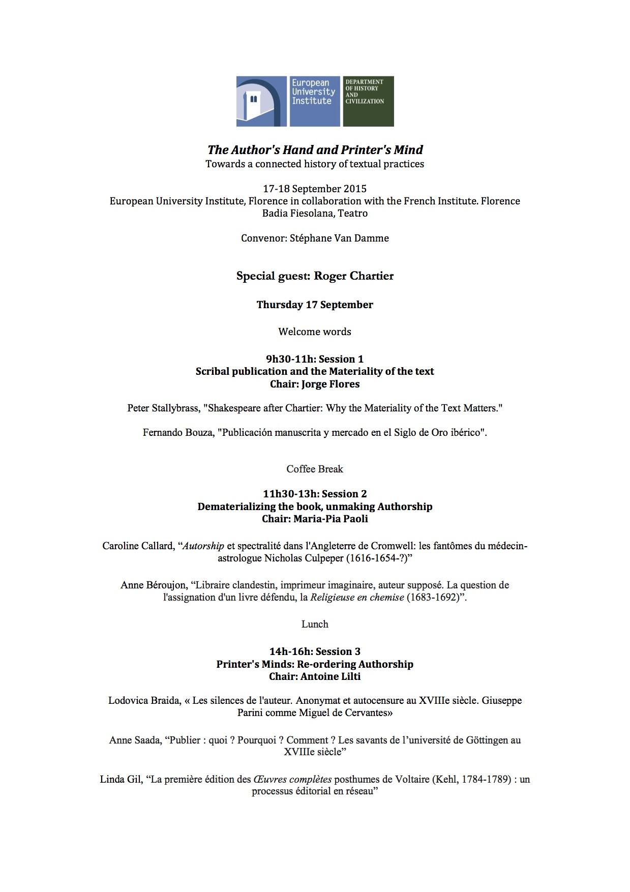 FINALProgrammeChartierSept2015