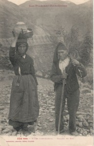 Carte postale : Série Les Pyrénées Ariégeoises - 946 - Types d'Ariégeois - Vallée de Suc - Vers 1900 - Fonds Cugullière -