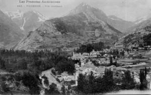 Carte postale Labouche : Vicdessos - vue générale - vers 1910 - Fonds J.P. Métailié