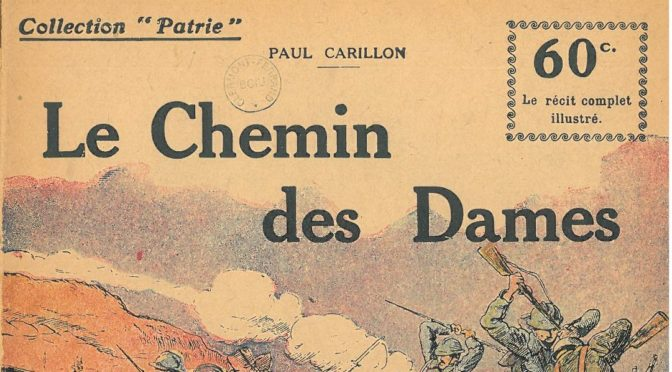 Le Chemin des Dames de Paul Carillon.