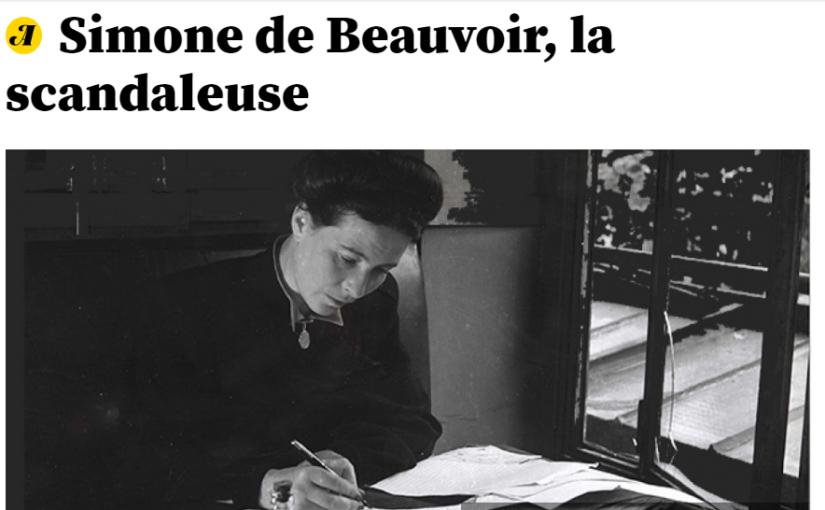 Réputation de S. de Beauvoir : l'effet des publications posthumes